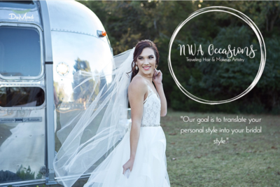 NWA Occasions- Traveling Hair & Makeup Artistry