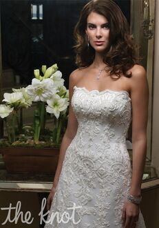Casablanca Bridal 1918 A-Line Wedding Dress
