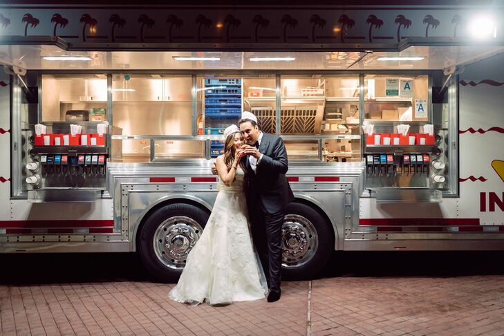 Couple at In-N-Out for Late-Night Snacks