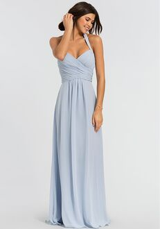 Kleinfeld Bridesmaid KL-200004 Halter Bridesmaid Dress