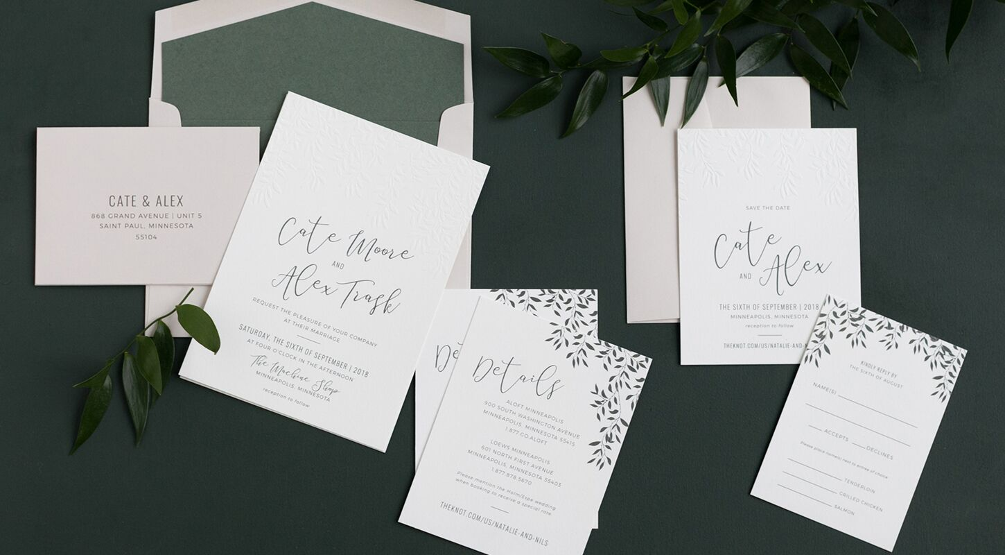 Invitations + Paper in Minneapolis, MN - The Knot