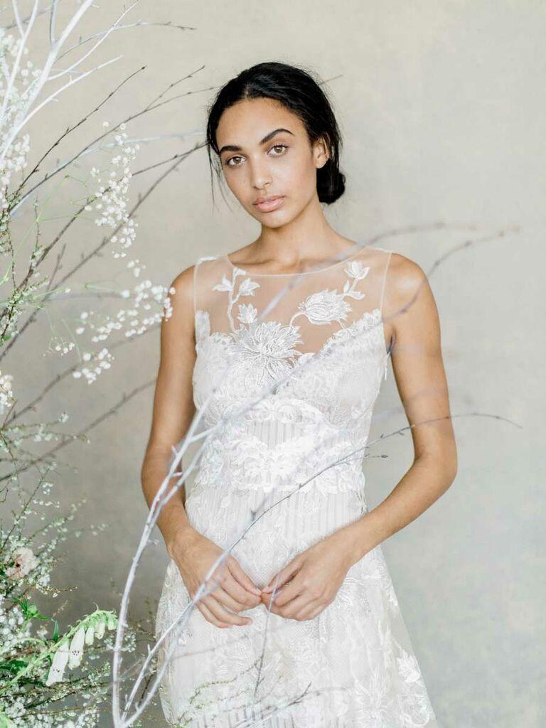 4bf4eb7c923 Claire Pettibone Spring 2019 Collection  Bridal Fashion Week Photos