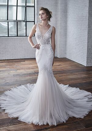 Badgley Mischka Bride Charlize Mermaid Wedding Dress