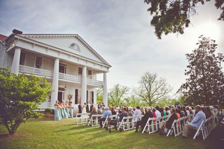 Outdoor Ceremony at the Bowden Johnson House