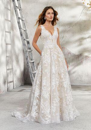 Morilee by Madeline Gardner/Blu 5695 / Lauren A-Line Wedding Dress