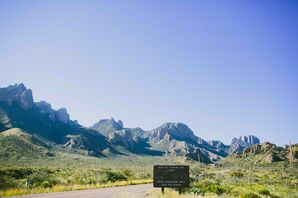 Natural Big Bend National Park Wedding