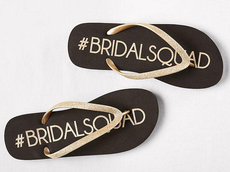 #bridalsquad flip flops