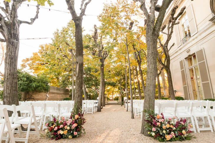 Ceremony Setup at The Meridian House in Washington, D.C.
