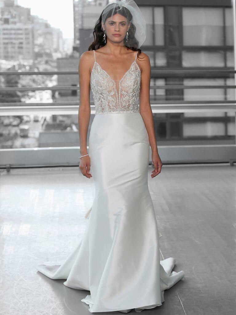 Justin Alexander Signature Wedding Dresses beaded trumpet gown