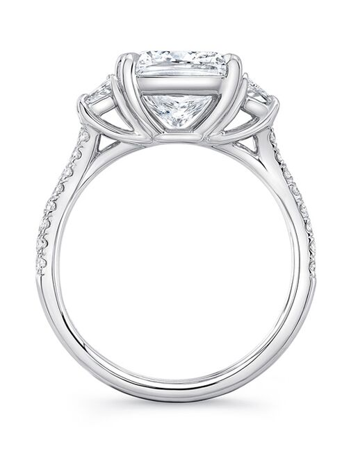 Uneek Fine Jewelry Classic Cushion Cut Engagement Ring