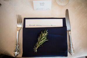 Rosemary Spring Place Setting Decor