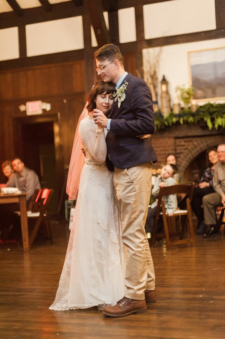 First Dance in Cozy Candlelit Chalet