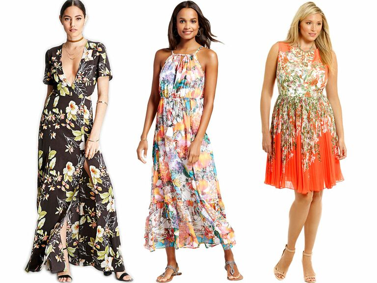 Women In Beach Wedding Attire