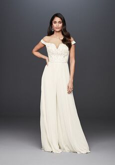 David's Bridal Galina Signature Style SWG826 Wedding Dress