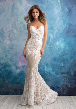 Allure Bridals Wedding Dresses The Knot,Ball Gown Wedding Dresses Cinderella Style