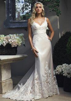 Casablanca Bridal 2210 Sheath Wedding Dress