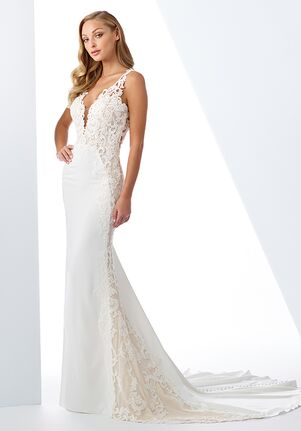 Enchanting by Mon Cheri 119125 Sheath Wedding Dress