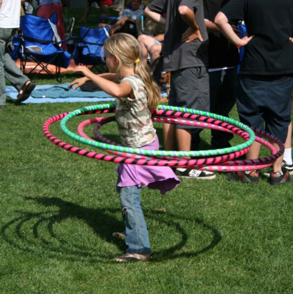 Fun hula hoops contests!