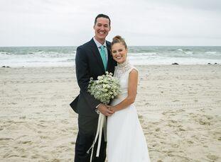 Julie Reymann (26, Talent Development Professional) and Ken Buchholz (30, Restaurant Owner) lived an entire summer on the same block near the beach be