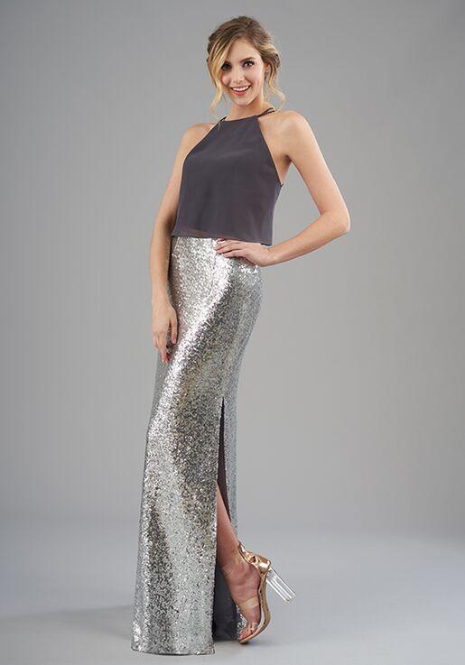 B2 Bridesmaids by Jasmine B203060 Halter Bridesmaid Dress