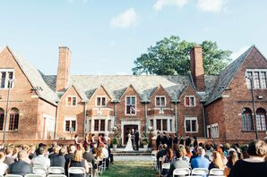 Moorestown Community House Outdoor Ceremony