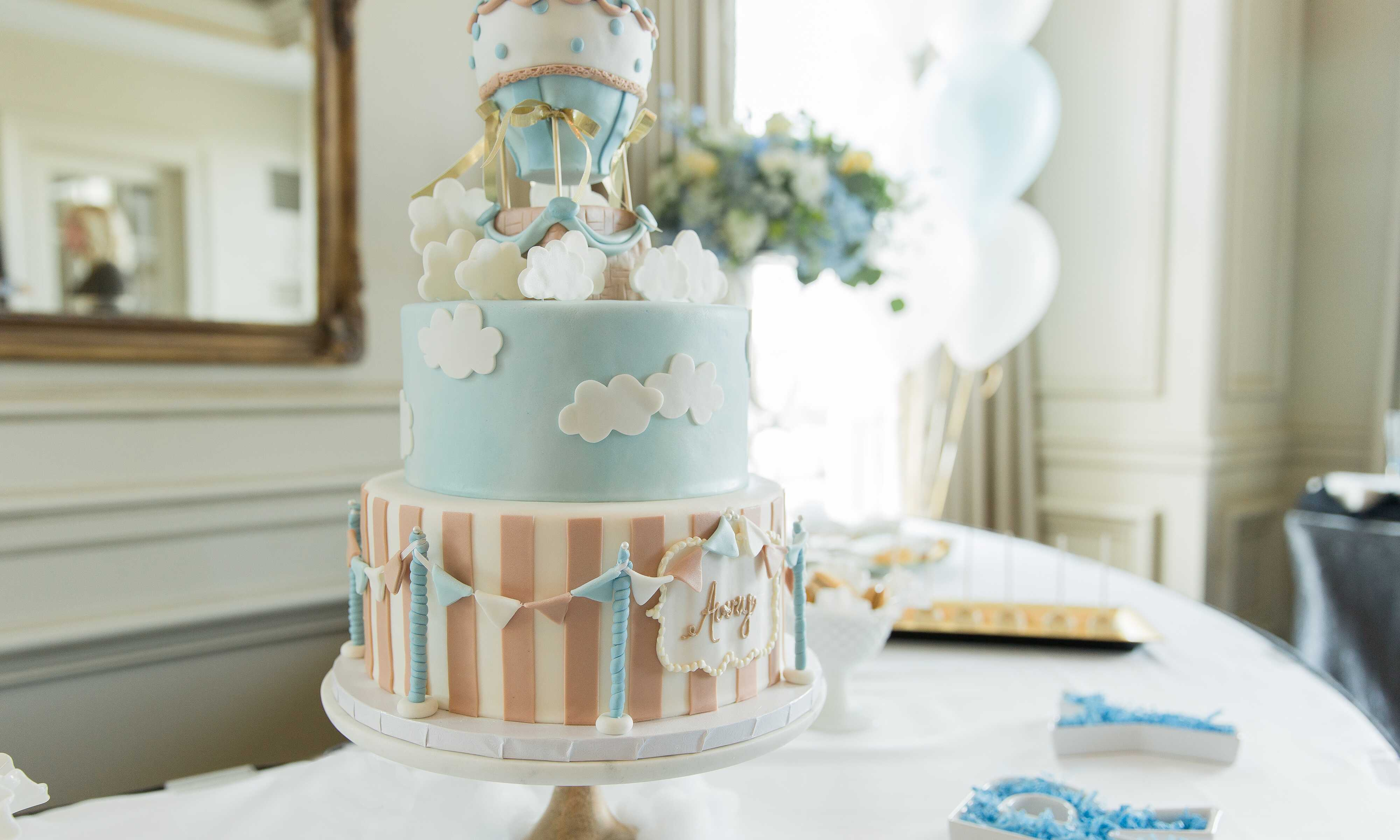 Up, Up and Away Baby Shower Party Theme | The Bash