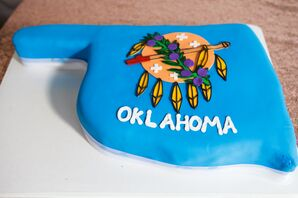 Custom Oklahoma State Cookie