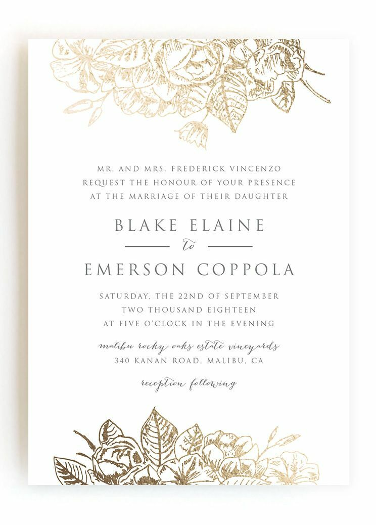 How you should word invitations wedding invitation wording samples wedding invitations from minted stopboris Images