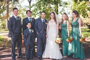 Dessy Bridesmaid Dresses in Jade