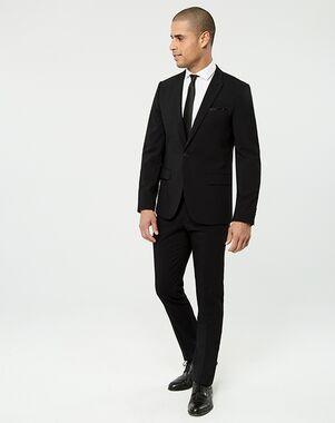 LE CHÂTEAU Wedding Boutique Tuxedos MENSWEAR_359994_010 Black Tuxedo