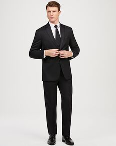 Jos. A. Bank Black Notch Lapel Tuxedo Black Tuxedo