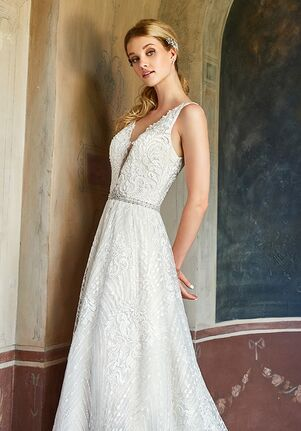 Val Stefani D8184 A-Line Wedding Dress