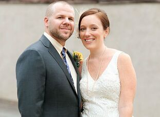 The Bride Carolyn O'Leary, 32, an associate director at an advertising agency The Groom Erik Emond, 37, a film editor The Date August 21  Carolyn and
