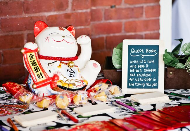 Chinese New Year Inspired Wedding Ideas
