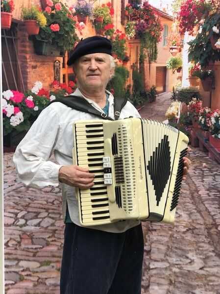 A-A Strolling Accordion for Parties - Accordion Player - Sausalito, CA