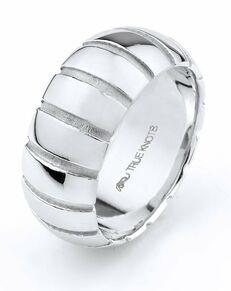 TRUE KNOTS True Man - 529DCW Palladium, Platinum, White Gold Wedding Ring