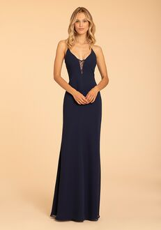 Hayley Paige Occasions 52009 V-Neck Bridesmaid Dress