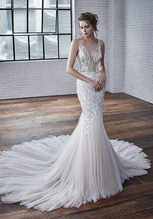Badgley Mischka Bride Coco Mermaid Wedding Dress