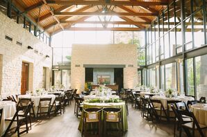 Light-Filled Gallery Reception Space