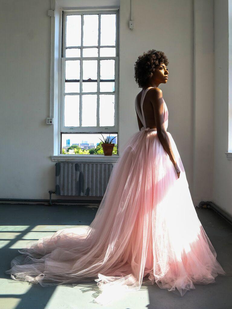la robe de mariée fleur de lotus