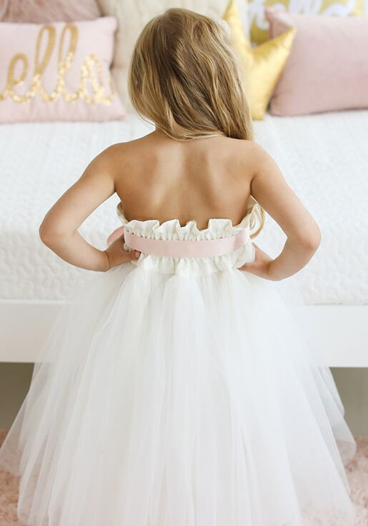 FATTIEPIE Bigdaylace Flower Girl Dress