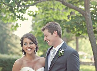 The Bride Stephanie Roberts, 28, a school relations account manager The Groom Brett Baker, 28, a consultant The Date July 9  From the start, Stephanie