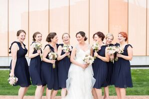 Navy Wtoo by Watters Bridesmaid Dresses