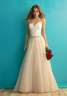 Allure Bridals 9269 A-Line Wedding Dress