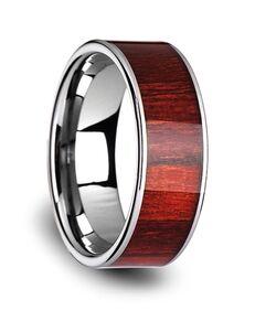 Mens Tungsten Wedding Bands W3834-TCRW Tungsten Wedding Ring