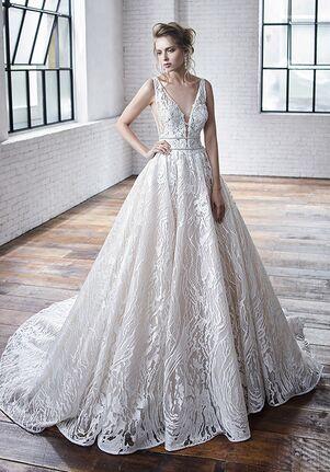 Badgley Mischka Bride Celeste A-Line Wedding Dress