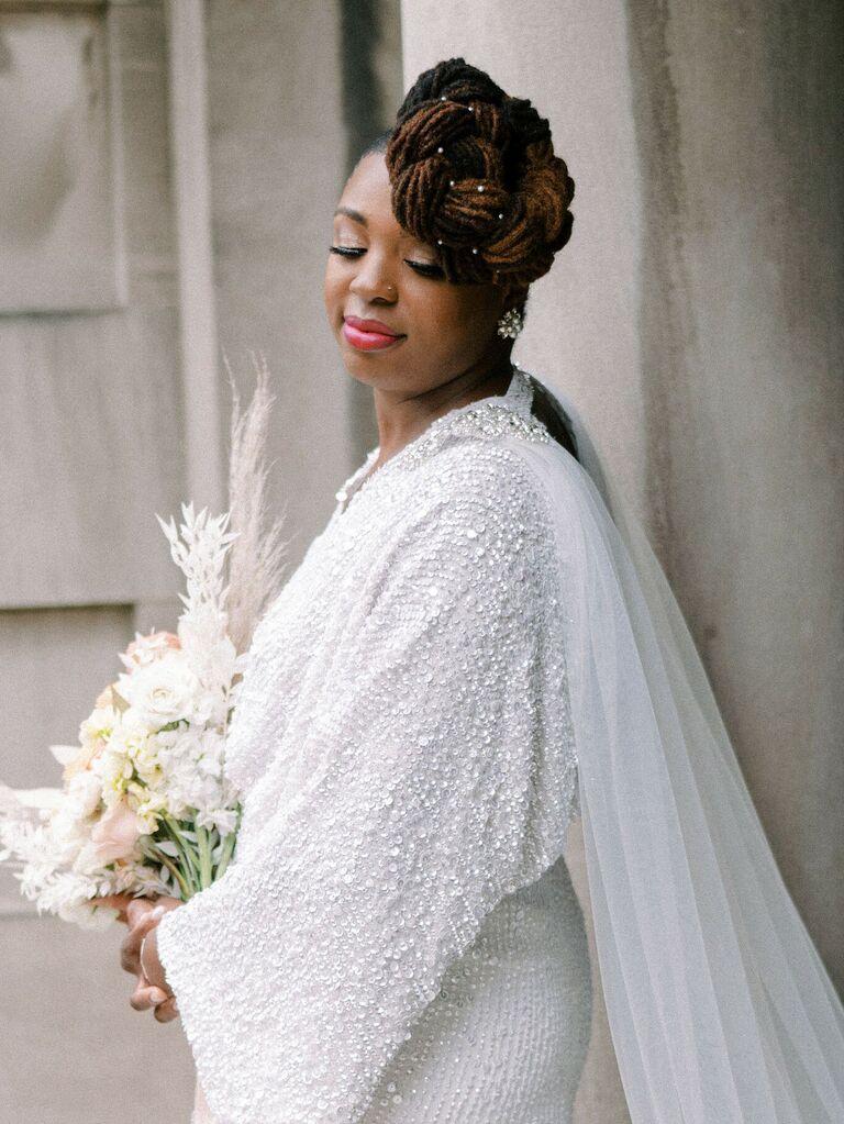 wedding braid hairstyles braided top knot