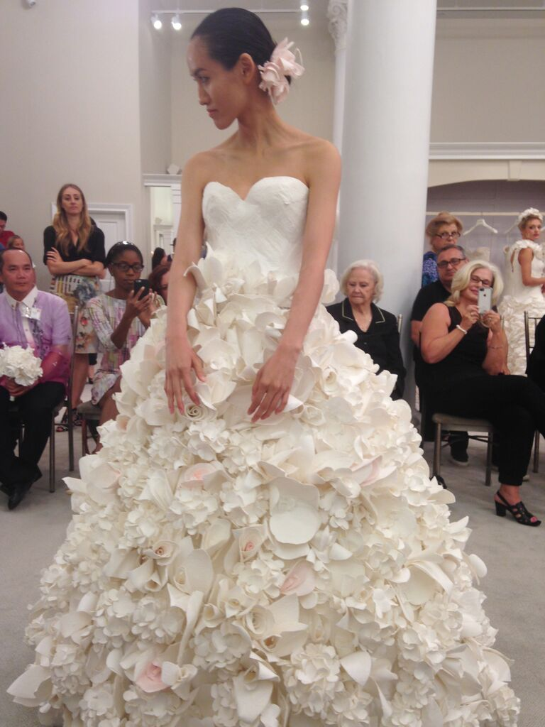 These Charmin Toilet Paper Wedding Dresses Are Actually Pretty Amazing