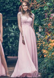 CocoMelody Bridesmaid Dresses PR3554 Illusion Bridesmaid Dress