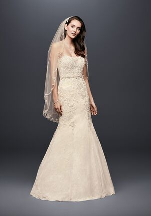 David's Bridal David's Bridal Style WG3909 Mermaid Wedding Dress